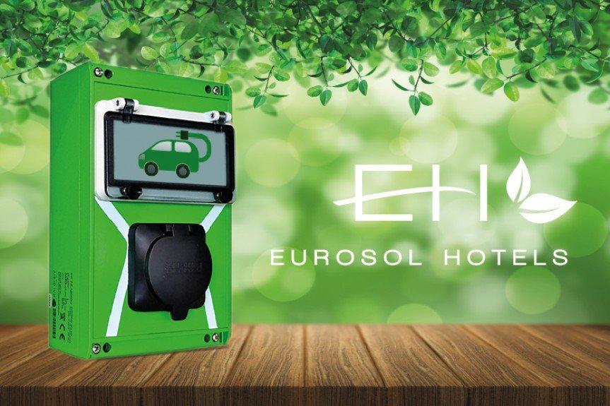 Cargamento de coches electricos
