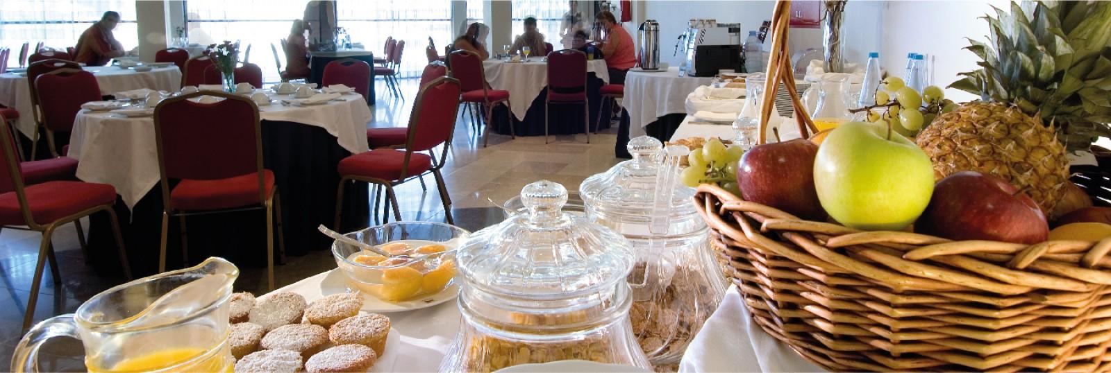 Hotel Eurosol Alcanena - Desayuno
